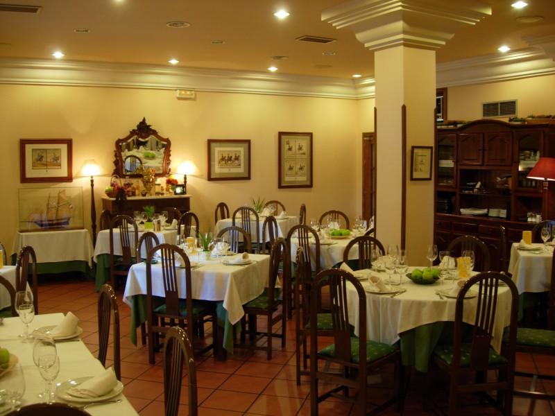 Restaurante Reina XIV, Comedor