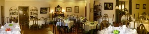 Reina XIV restaurante en La Granja de San Ildefonso. Comedor