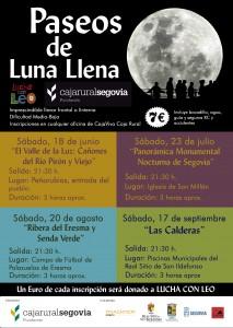 Paseos de Luna Llena