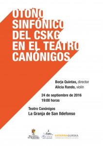 Otoño Sinfónico en La Granja de San Ildefonso